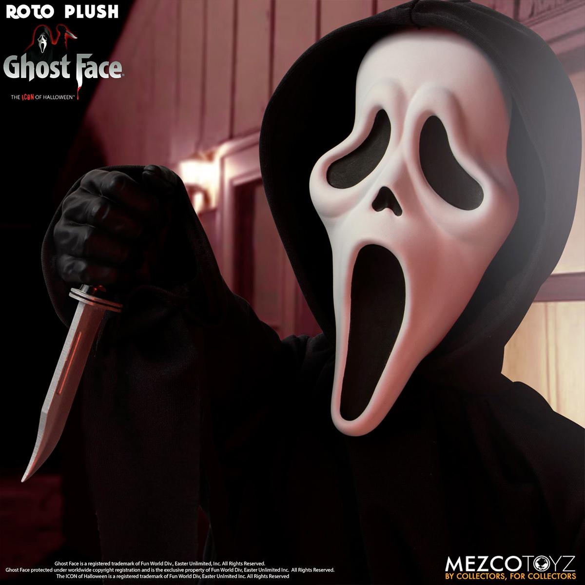 Boneco Ghost Face MDS Roto Plush Doll