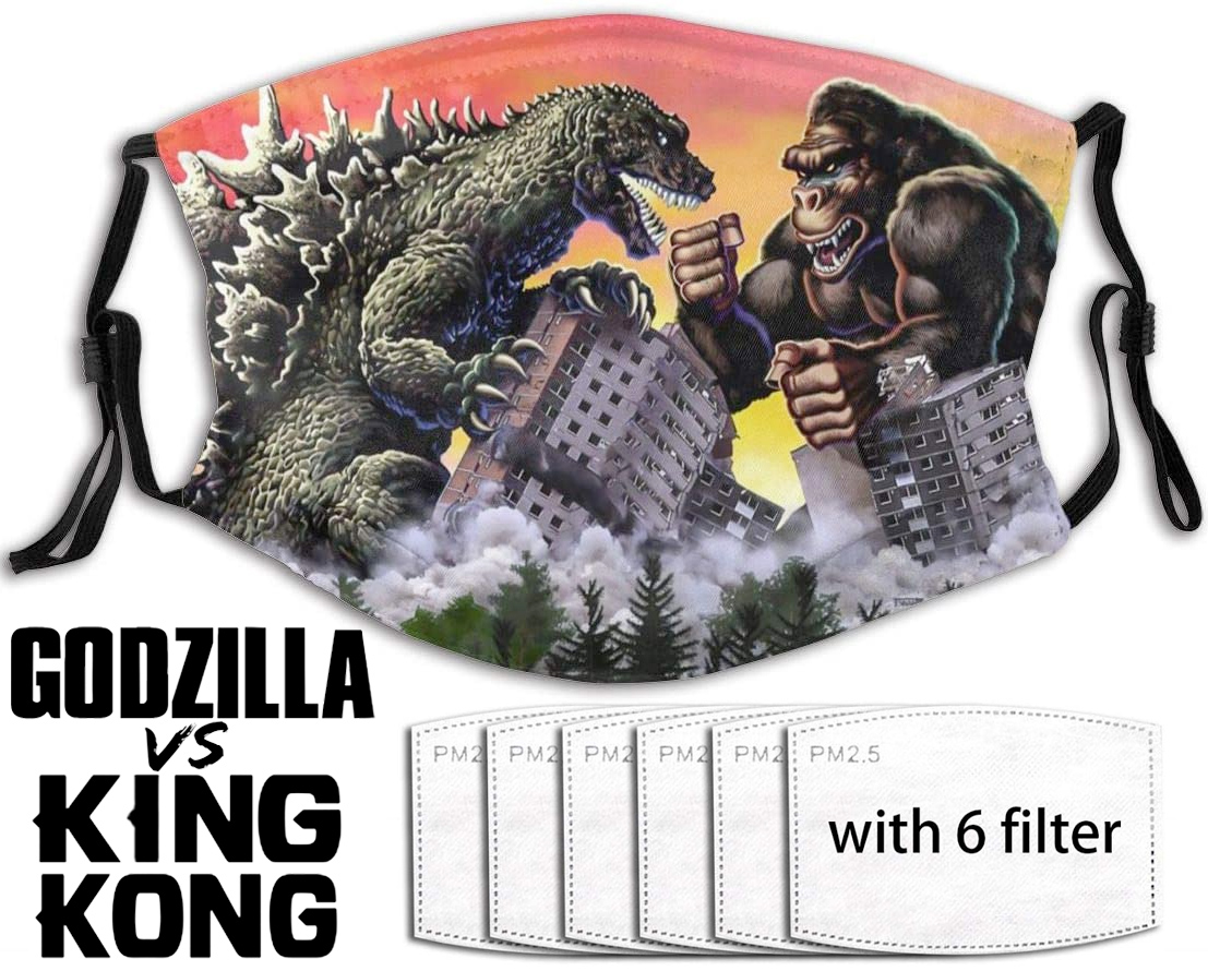 Mascara Facial King Kong Vs. Godzilla