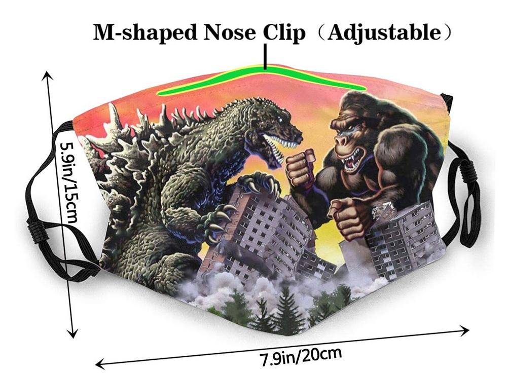 Mascara Facial King Kong Vs. Godzilla