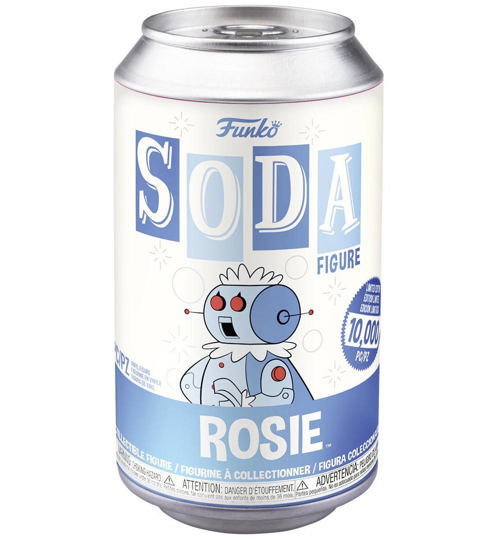 Boneca Rosie The Jetsons Vinyl Soda Figure