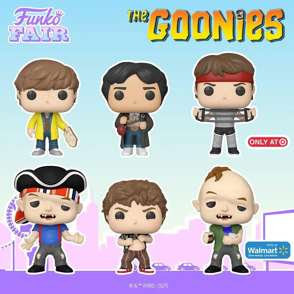 Bonecos Funko Pop Os Goonies