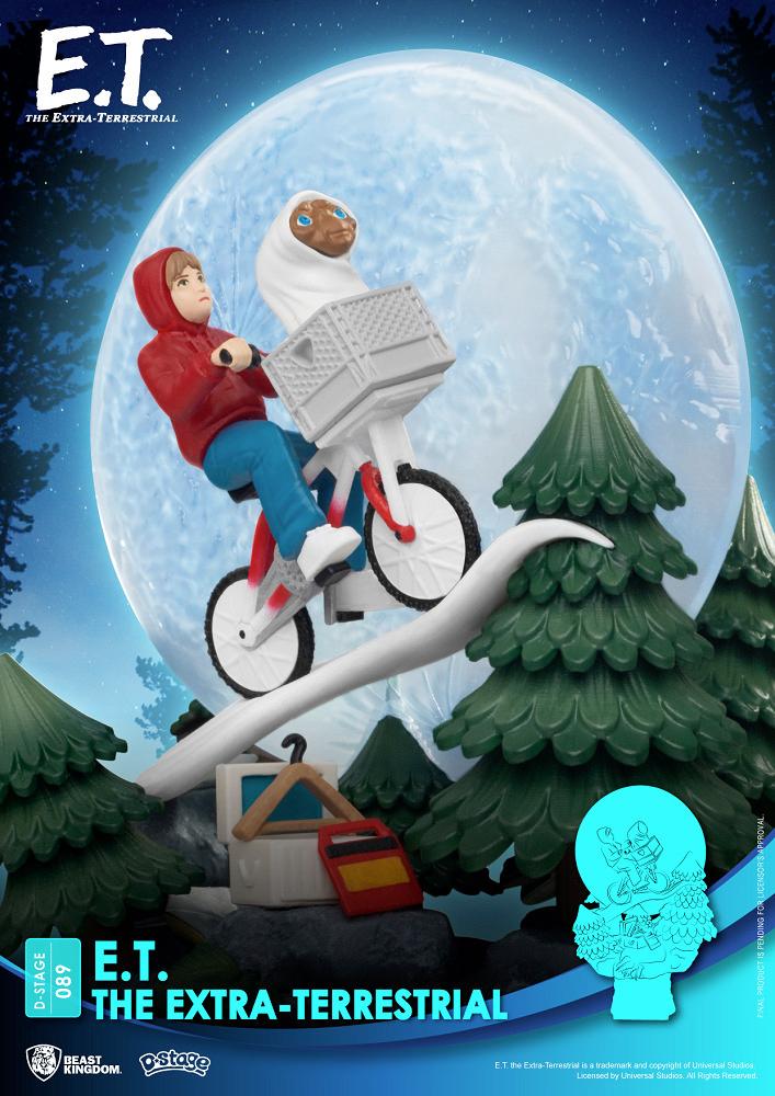ET O Extraterrestre D-Stage Estatua-Diorama 360 Graus