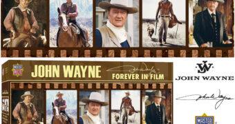 """Quebra-Cabeça Panorâmico John Wayne """"Forever in Film"""" com 1.000 Peças"""