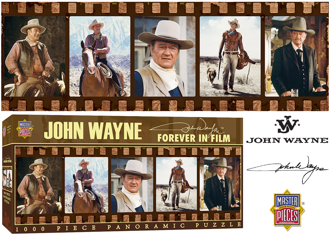 Quebra-Cabeca John Wayne Forever in Film