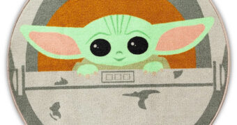 Tapete Redondo Grogu (Baby Yoda) Star Wars: The Mandalorian