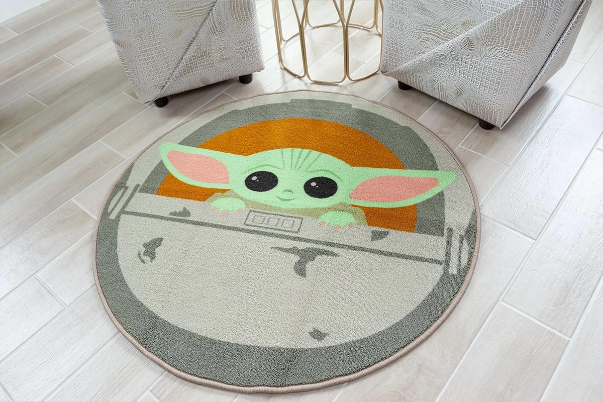 Tapete Redondo Grogu Baby Yoda Star Wars The Mandalorian