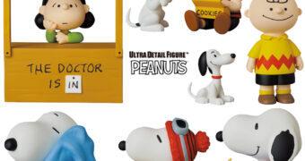 Bonecos Peanuts UDF Série 12 da Medicom Japão