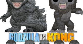 Bonecos Pop! do Filme Godzilla vs. Kong