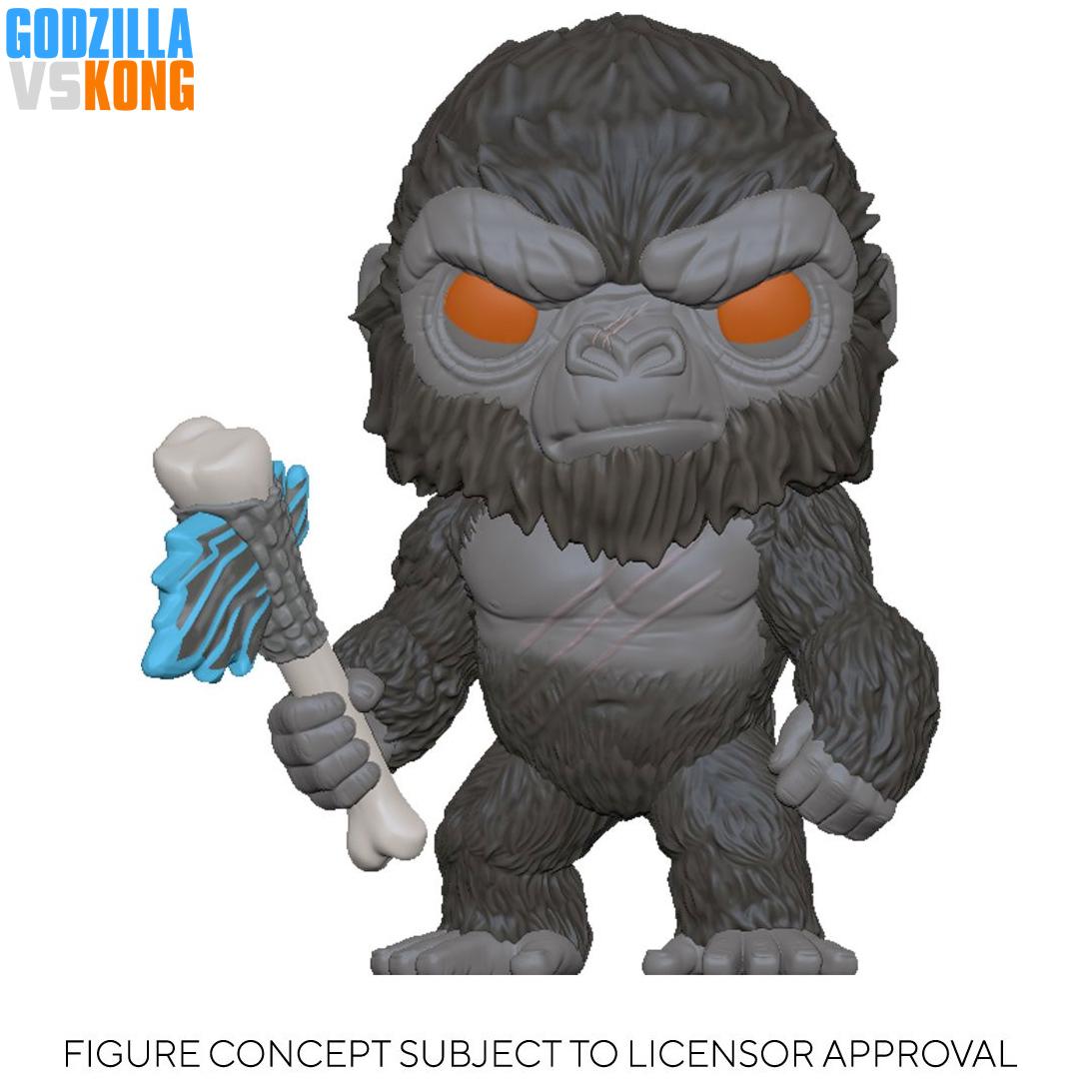 Bonecos Godzilla vs Kong Pop 2021 Funko