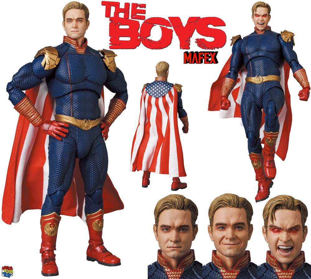 Action Figure Homelander The Boys MAFEX