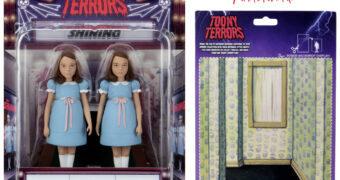 Toony Terrors: Gêmeas Grady de O Iluminado em Estilo Desenho Animado