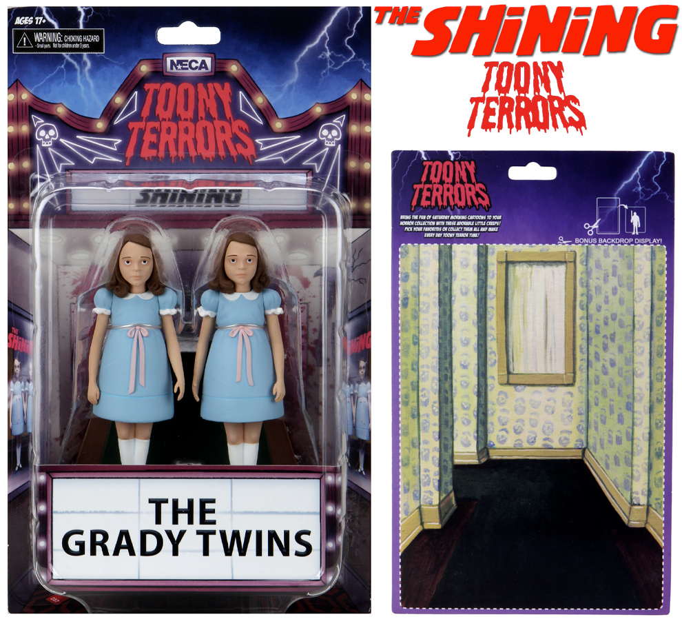 O Iluminado The Grady Twins The Shining Toony Terrors