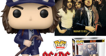 Boneco Pop! Albums AC/DC Highway to Hell de 1979