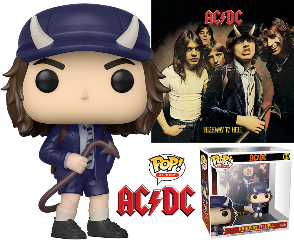 Boneco Pop! Albums AC/DC Highway to Hell