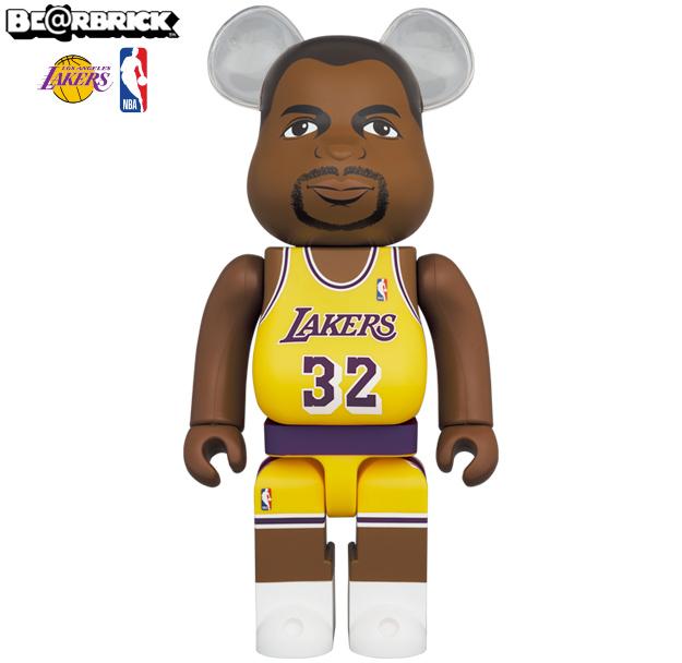 Bonecos Magic Johnson Los Angeles Lakers Bearbricks Medicom