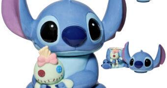 Pote de Cookies Stitch com a Boneca Scrump (Lilo & Stitch)