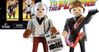 Bonecos Playmobil De Volta para o Futuro: Marty McFly e Dr. Emmett Brown (Back to the Future)