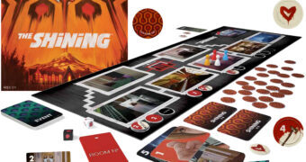 The Shining Board Game – Jogo de Tabuleiro Cooperativo O Iluminado de Stanley Kubrick
