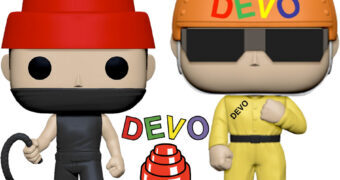 Bonecos Pop! da Banda Devo: Satisfaction e Whip It