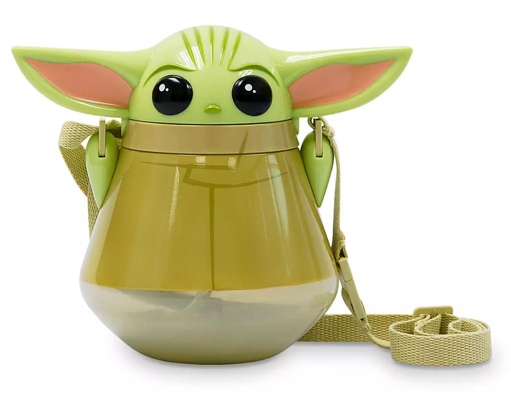 Cantil Baby Yoda The Child Flip-Top Canteen-Star Wars Mandalorian
