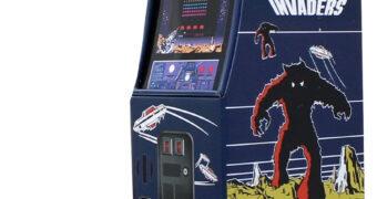 Cofre de Lata Space Invaders Gabinete Arcade
