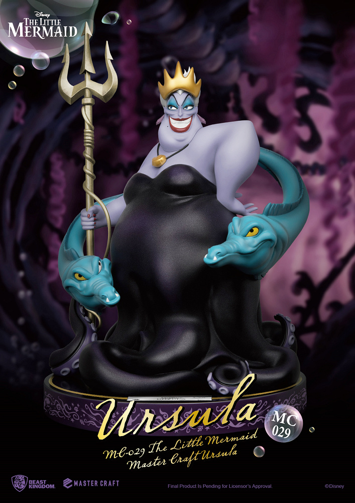Estatua Ursula The Little Mermaid Master Craft Statue