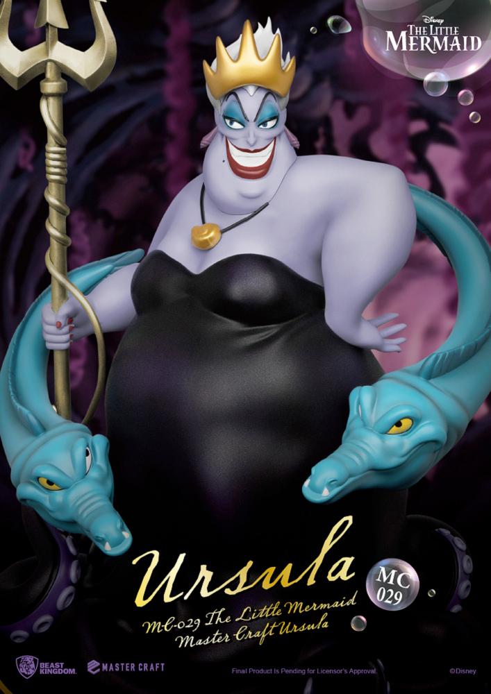 Estatua Ursula The Little Mermaid Master Craft Statue
