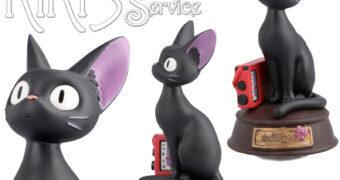 Caixa de Música Gatinha Jiji de O Serviço de Entregas da Kiki (Hayao Miyazaki)