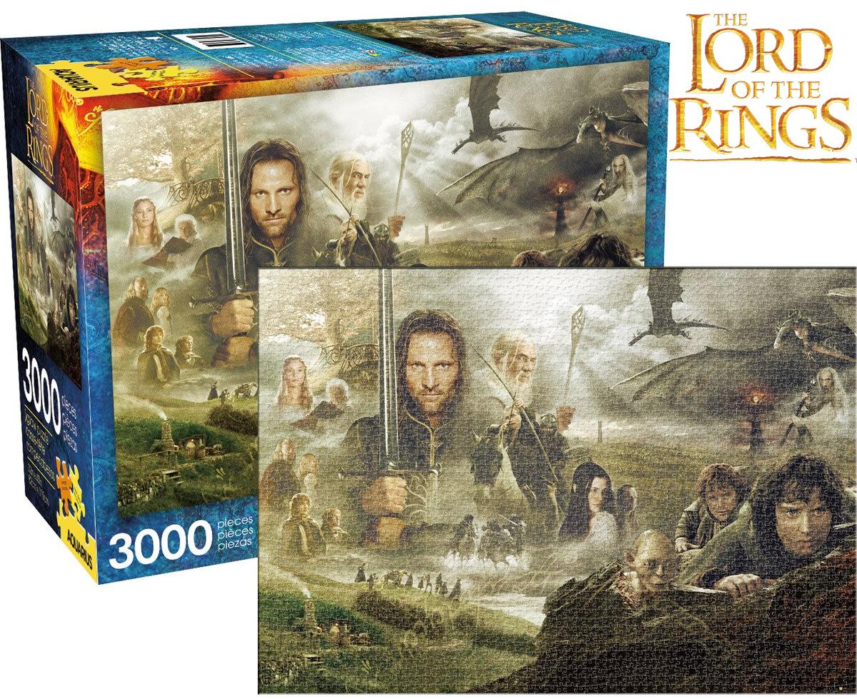 Quebra-Cabeca Senhor dos Aneis Lord of the Rings Saga 3000-Piece Puzzle