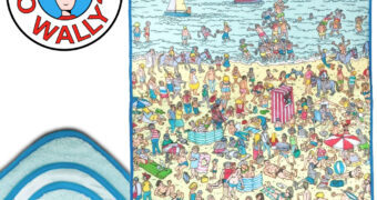 Cobertor de Lance Onde Está Wally?