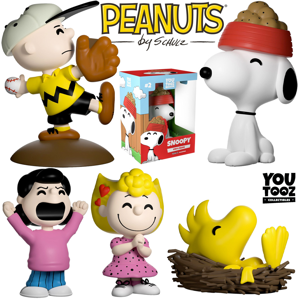 Mini-Figuras Peanuts Youtooz Collection