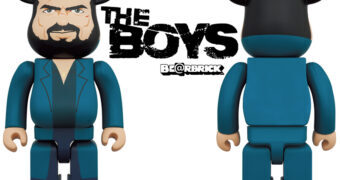Boneco Billy Butcher The Boys Be@rbrick com 28cm de Altura