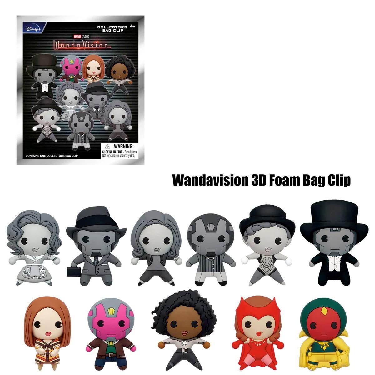 WandaVision Figural Foam Bag Clip