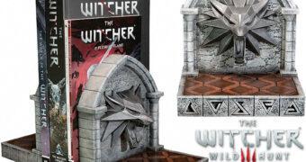 Apoios de Livros The Witcher 3: Wild Hunt Bookends