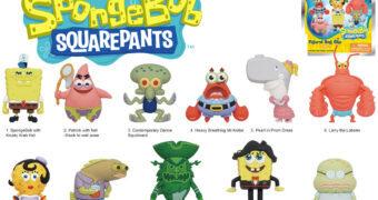 Chaveiros Nickelodeon 3D Figural Bag Clip Série 4: Bob Esponja Calça Quadrada (Blind-Box)