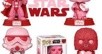 Bonecos Pop! Star Wars com Corações para o Dia de São Valentim (Dia dos Namorados)