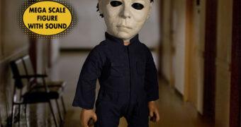 Boneco Falante Michael Myers Mezco MDS Mega Scale (Halloween 2 – O Pesadelo Continua)