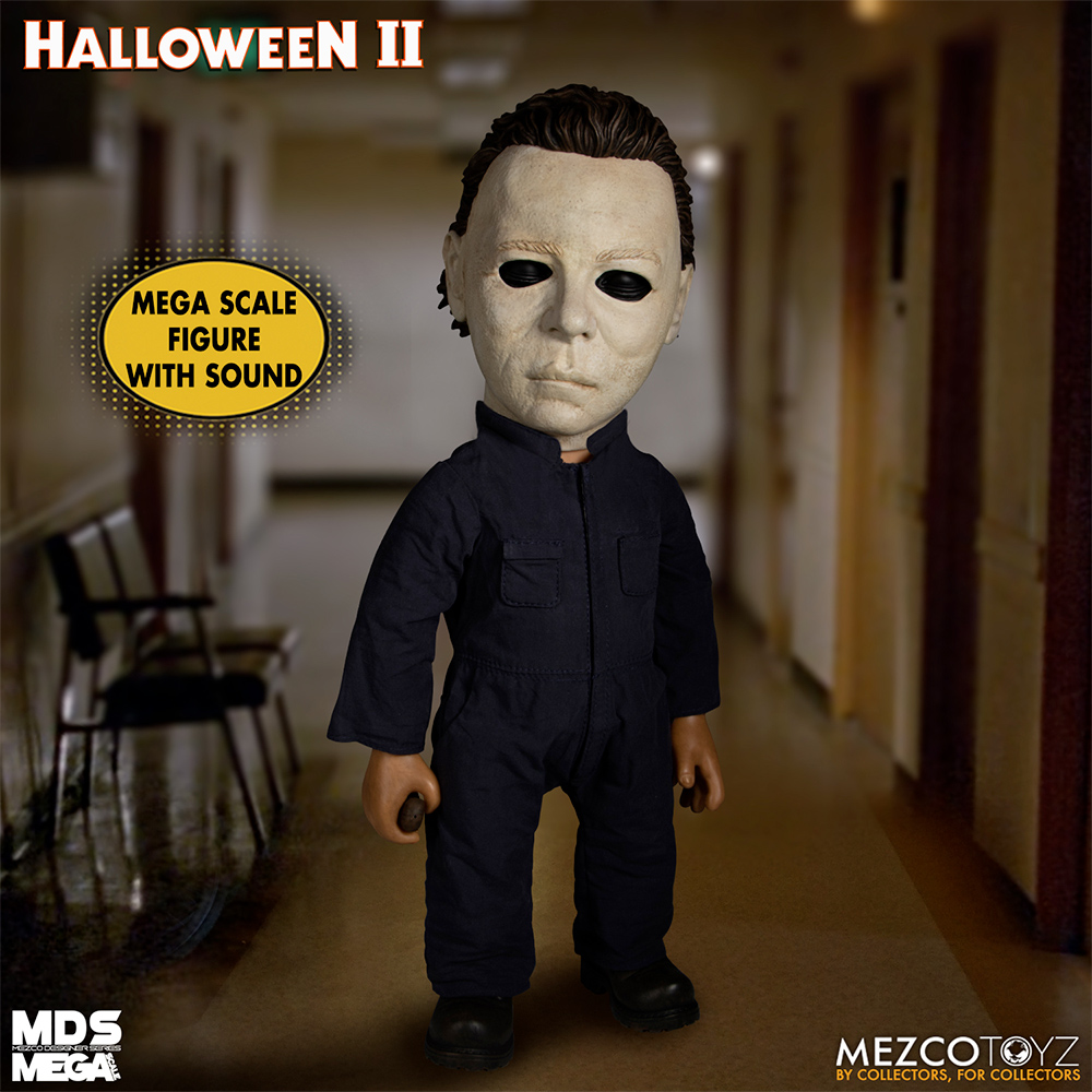 Boneco Halloween II Michael Myers with Sound MDS Mega Scale Doll