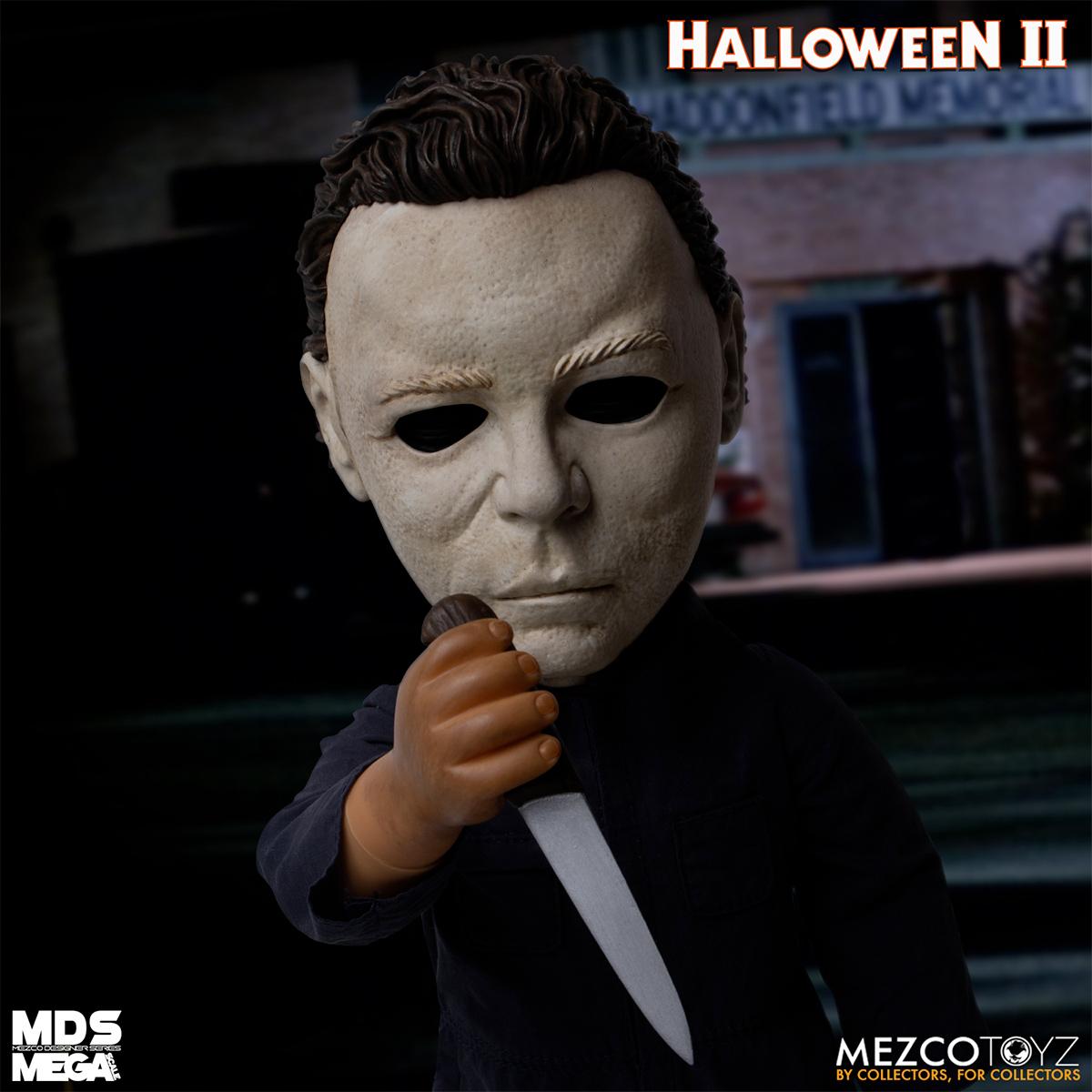 Boneco Halloween II Michael Myers with Sound MDS Mega Scale Doll