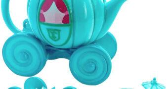 Bule de Chá Bibbidi-Bobbidi-Boo Carruagem da Cinderella