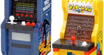 Nanoblock Arcade Clássicos: Space Invaders e Pac-Man