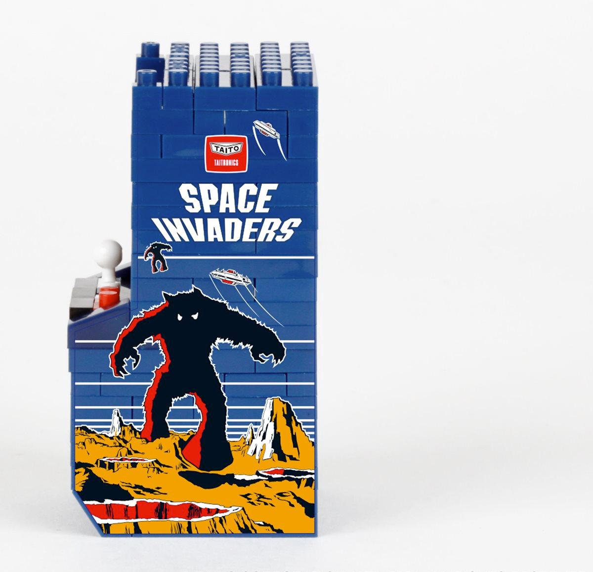 Nanoblocks Arcade Pac-Man e Space Invaders