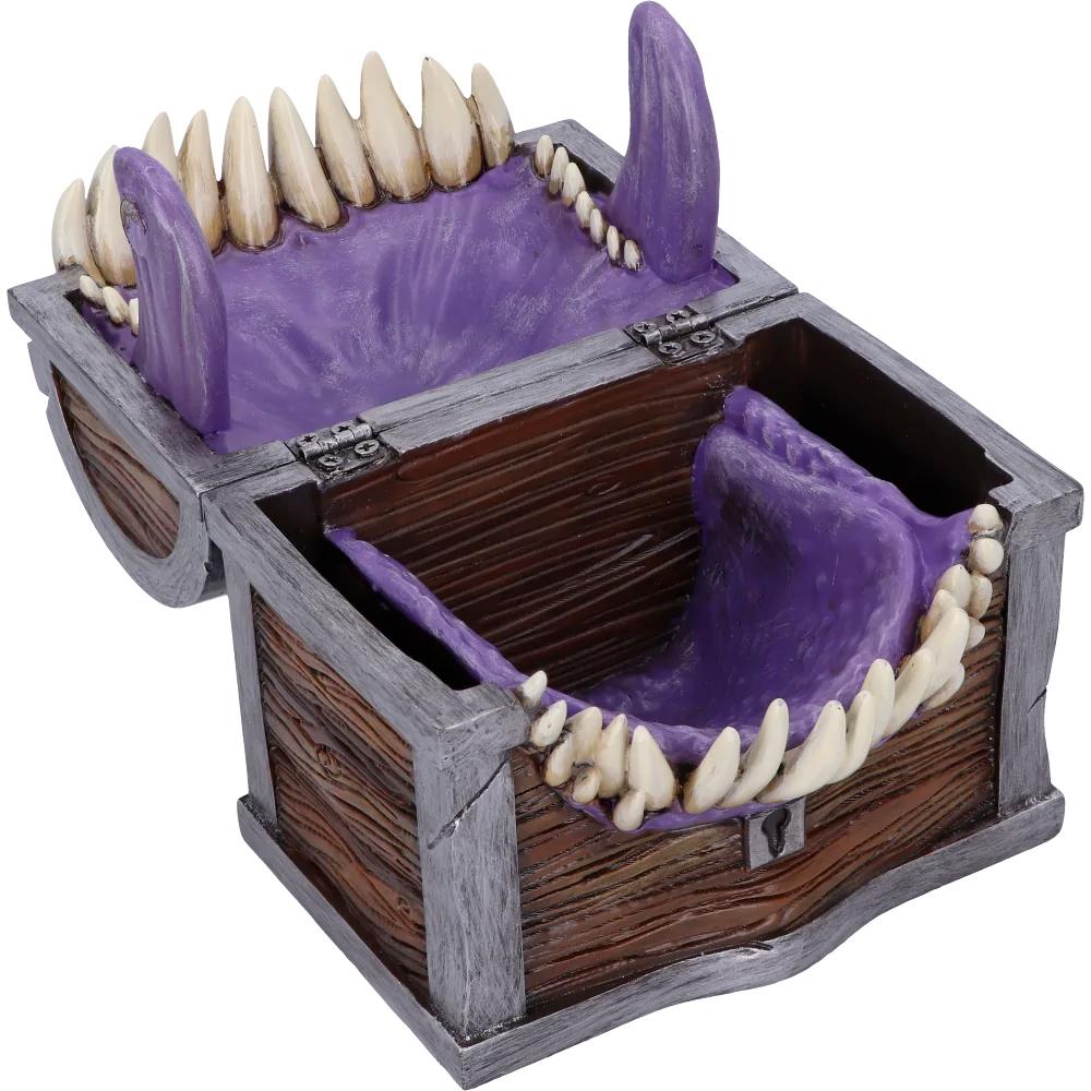 Caixa de Dados Dungeons and Dragons-Mimic Dice Box Holder