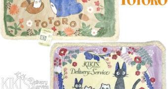 Cobertores Meu Amigo Totoro e Serviço de Entregas da Kiki de Hayao Miyazaki