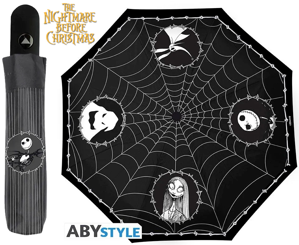 guarda-chuva Nightmare Before Christmas: Walking In The Spider Web Umbrella
