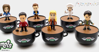Mini-Figuras Friends Smols em Xícaras do Central Perk