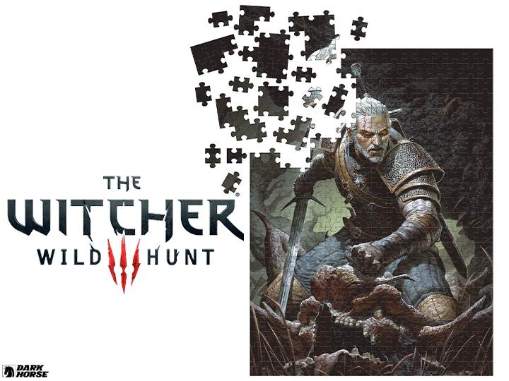 Quebra-Cabeça Geralt em The Witcher 3