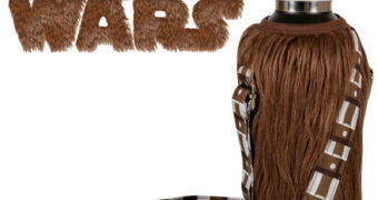 Capa Térmica Peluda Chewbacca Star Wars Bottle Cooler
