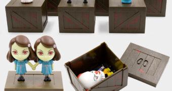 Mini-Figuras Horror e Terror Smols: Pennywise, Annabelle, Regan, Freira e Gêmeas Grady