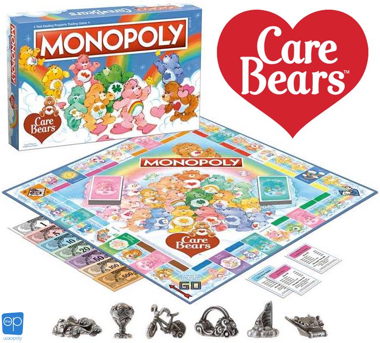 Jogo Monopoly Ursinhos Carinhosos Care Bears